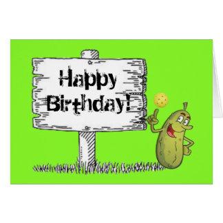 Happy Pickle Birthday! Card
