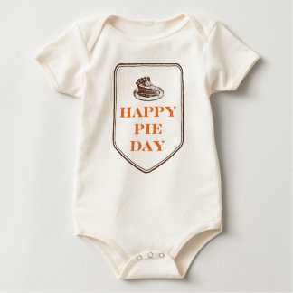 Happy Pie Day Thanksgiving Baby Bodysuit