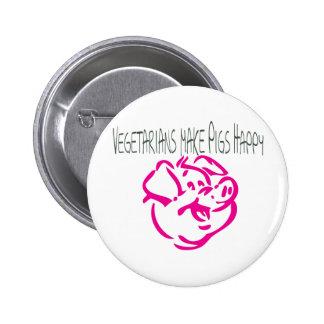 Happy Pig.ai 6 Cm Round Badge