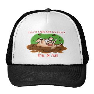 Happy Pig Cap