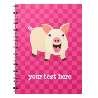 Happy Pig Notebook