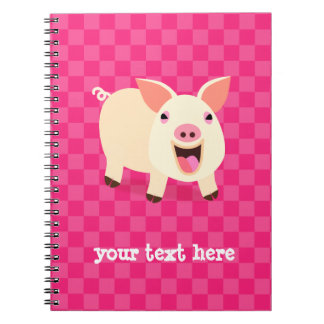 Happy Pig Notebooks