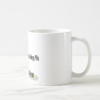 Happy Pills Basic White Mug