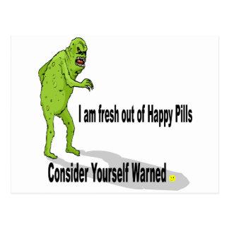 Happy Pills Postcard