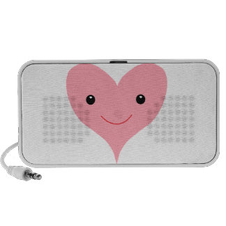 Happy Pink Heart Speaker System