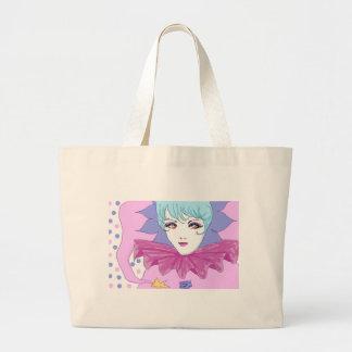 Happy Pink Joker Tote Bag