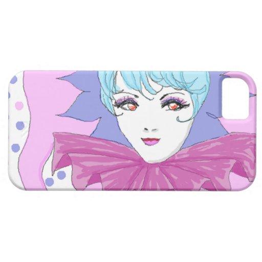 Happy Pink Joker iPhone 5 Cover