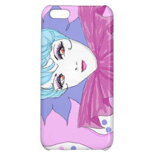 Happy Pink Joker iPhone 5C Cases