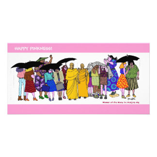 Happy Pinkness! WOW #4 Custom Photo Card
