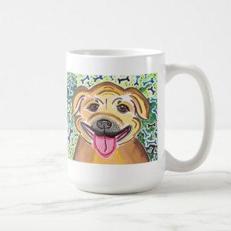 Happy Pit Bull Coffee Mug