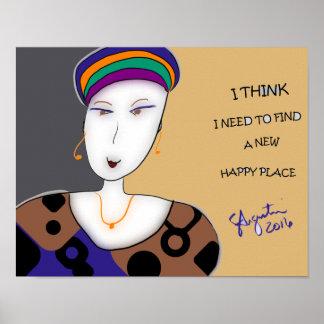 "HAPPY PLACE 11""X14"" PRINT (MATTE FINISH)"