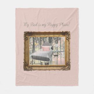 Happy Place Fleece Blanket