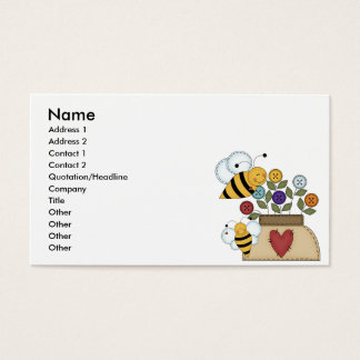 happy pollination business card