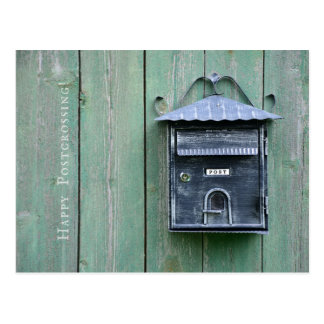 Happy Postcrossing! Mailbox. Postcard