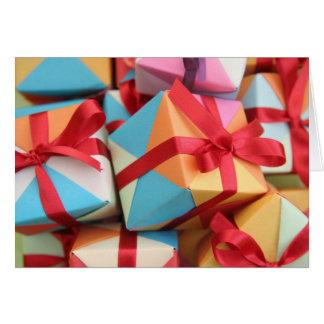 Happy present card