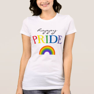 Happy Pride Rainbow T-Shirt