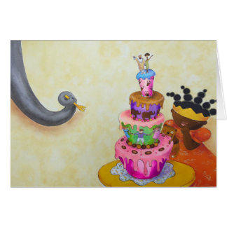 Happy princess birthday card! card