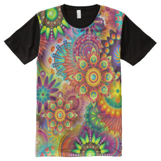 Happy Psychedelic All-Over Shirt
