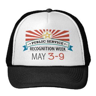 Happy Public Service Recognition Week Cap