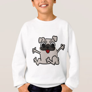 Happy Pug Sweatshirt