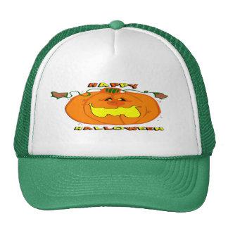 Happy Pumpkin Cap