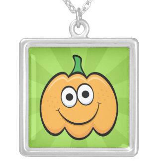Happy pumpkin cartoon cute necklace