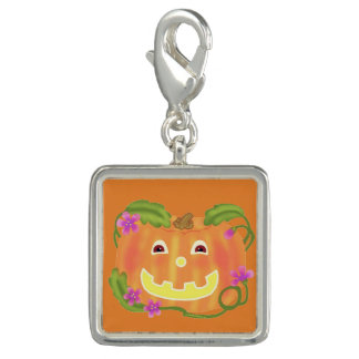 Happy Pumpkin charm