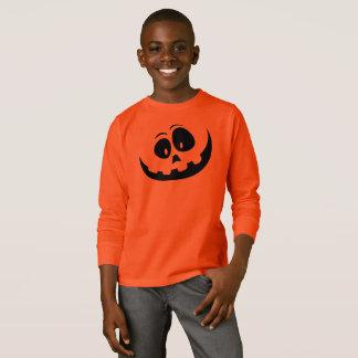 Happy Pumpkin Face Halloween Shirt