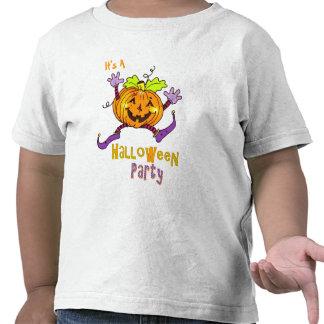 Happy Pumpkin Party Halloween Tshirts