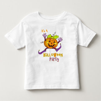 Happy Pumpkin Party Halloween Tee Shirt