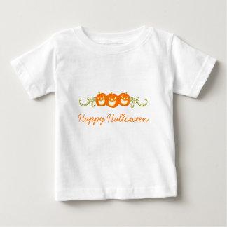 Happy Pumpkin Swirls Halloween Infant Tee