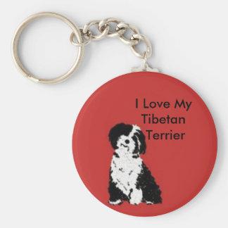Happy Pup Key Ring