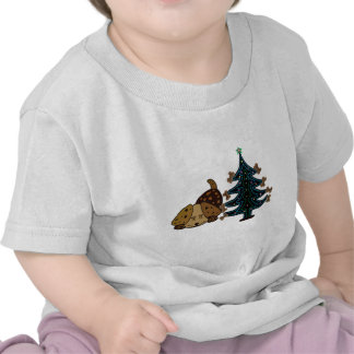 Happy Puppy Christmas T-shirts