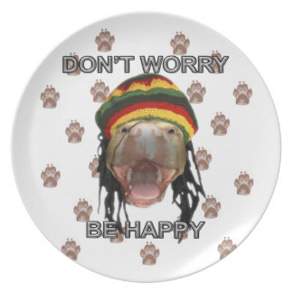 Happy Puppy Plate