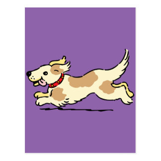 Happy Puppy Postcard