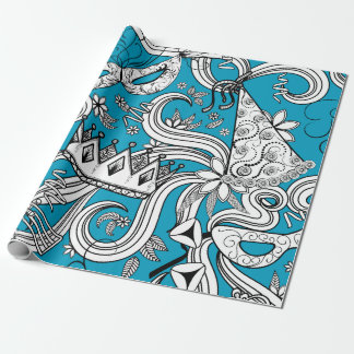 Happy Purim Wrapping Paper