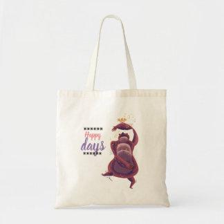 Happy purse days! tote bag