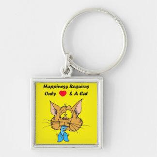 Happy Pussy Keychain