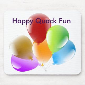 Happy Quack Fun Mouse Pad