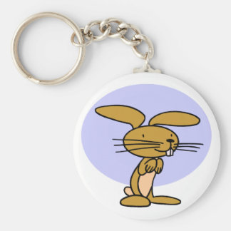 Happy Rabbit Key Ring
