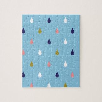 Happy rain drops jigsaw puzzle