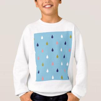 Happy rain drops sweatshirt