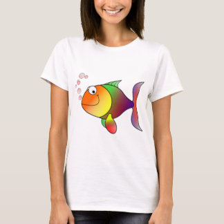Happy Rainbow Fish T-Shirt