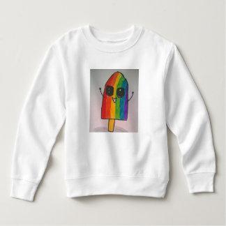 Happy Rainbow Popsicle Toddler Fleece Sweatshirt