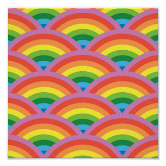 Happy Rainbow Poster