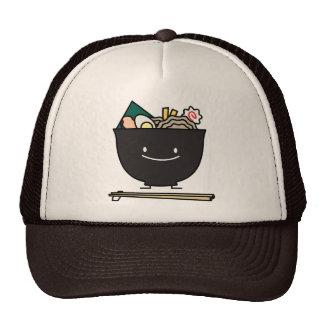 Happy Ramen Bowl Mesh Hats