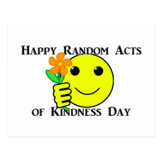 Happy Random Acts of Kindness Day Postcard