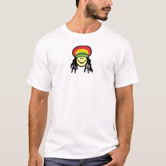 Happy Rastafarian face T-Shirt
