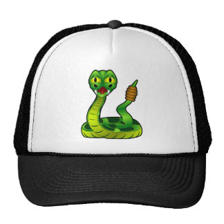 Happy rattlesnake cap