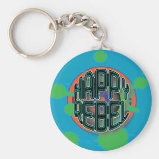 happy Rebel Key chain